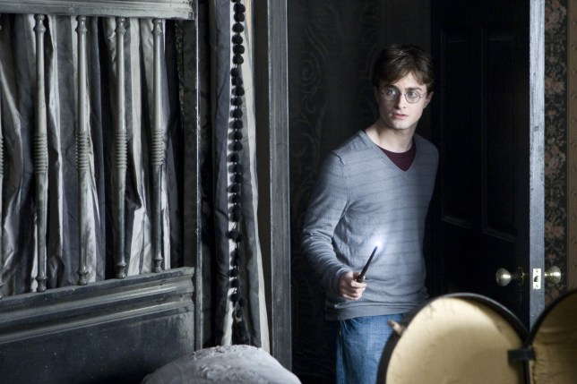 Daniel Radcliffe in the film Harry Potter and the Deathly Hallows