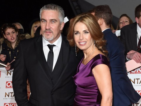 How old is Paul Hollywood's ex-wife Alex and how long were they married?