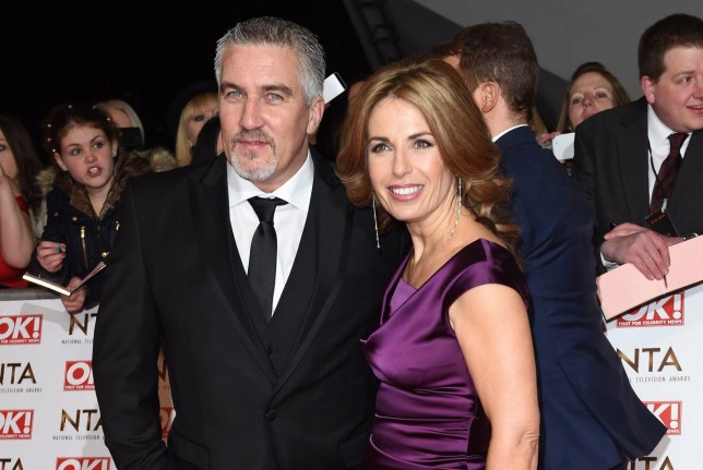 Paul Hollywood and ex-wife Alex Hollywood