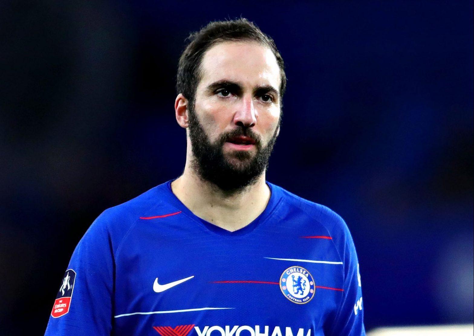 Maurizio Sarri issues Gonzalo Higuain injury update ahead of Chelsea's clash with Everton
