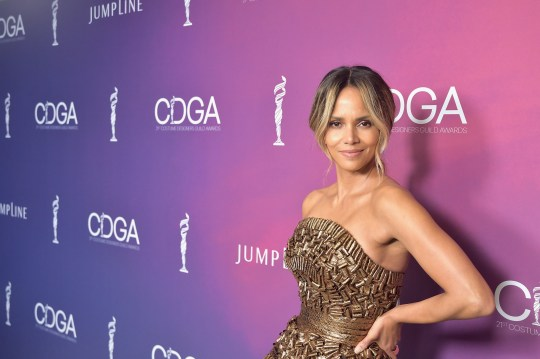 Halle Berry joins 'no bra club' as she celebrates 53rd birthday by freeing the nipple and we salute her