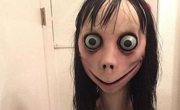'Momo' character, from an online game.