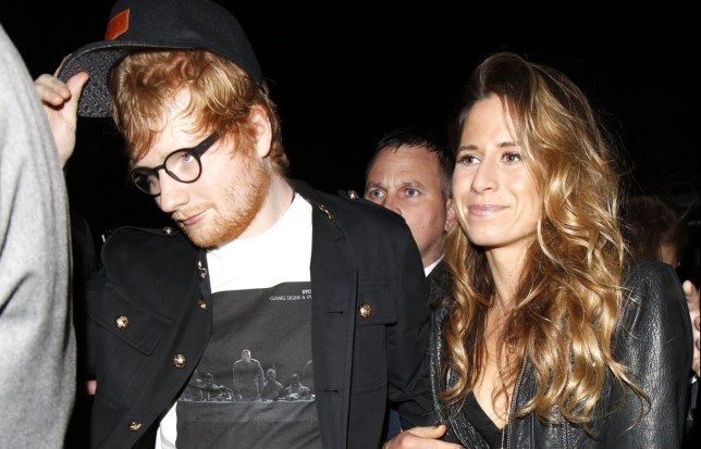 Mandatory Credit: Photo by Beretta/Sims/REX/Shutterstock (8423419cz) Ed Sheeran and Cherry Seaborn Warner Music Brit Awards, After Party, London, UK - 22 Feb 2017