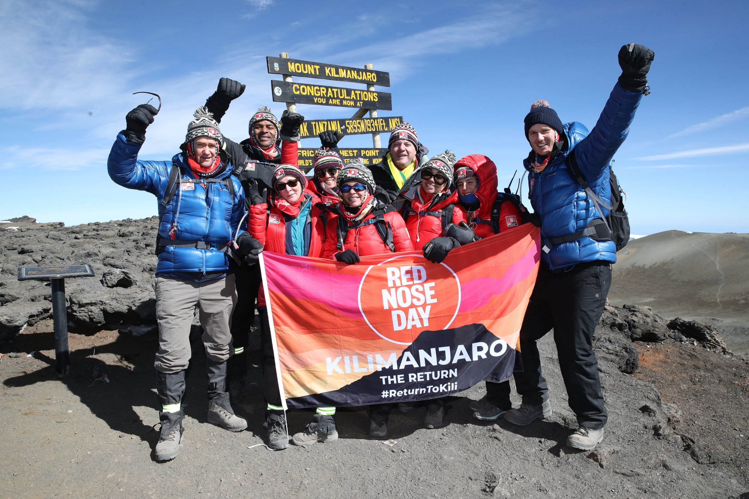 Little Mix, Dani Dyer and more reach Mount Kilimanjaro summit for Comic Relief