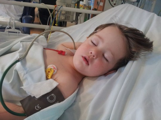 Daniel Bell, from Ormskirk, who was treated at Alder Hey for a brain tumour
