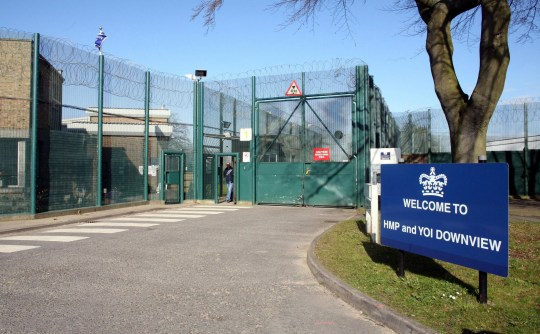 File photo dated 04/04/07 of the Downview Women's Prison in Sutton, Surrey, as jury in a trial of two prison officers, from the jail, accused of having sex with female inmates has retired to consider its verdict.