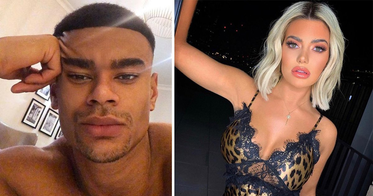 Megan Barton-Hanson and Wes Nelson 'exchange explicit text messages' after Dancing On Ice