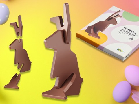 Ikea has launched a flat-pack Easter bunny that you build before you eat