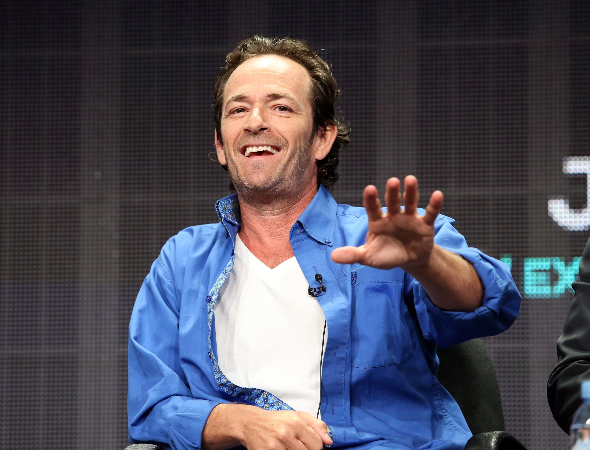 Colin Hanks shares sweet story about Luke Perry as 90210 and Riverdale star dies