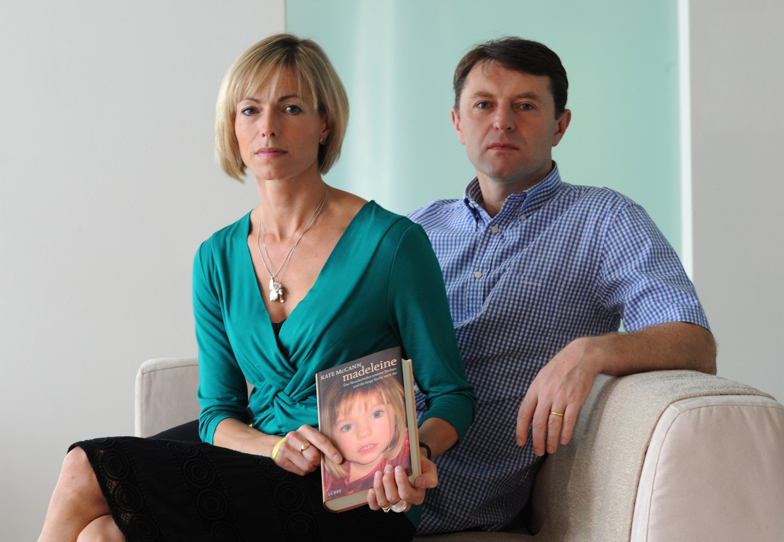 The parents of Madeleine McCann, Kate and Gerry McCann