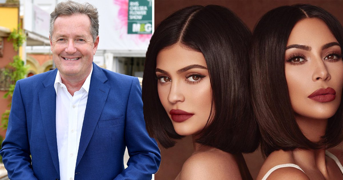 Piers Morgan says Kylie Jenner 'only a billionaire because Kim Kardashian made a sex tape'