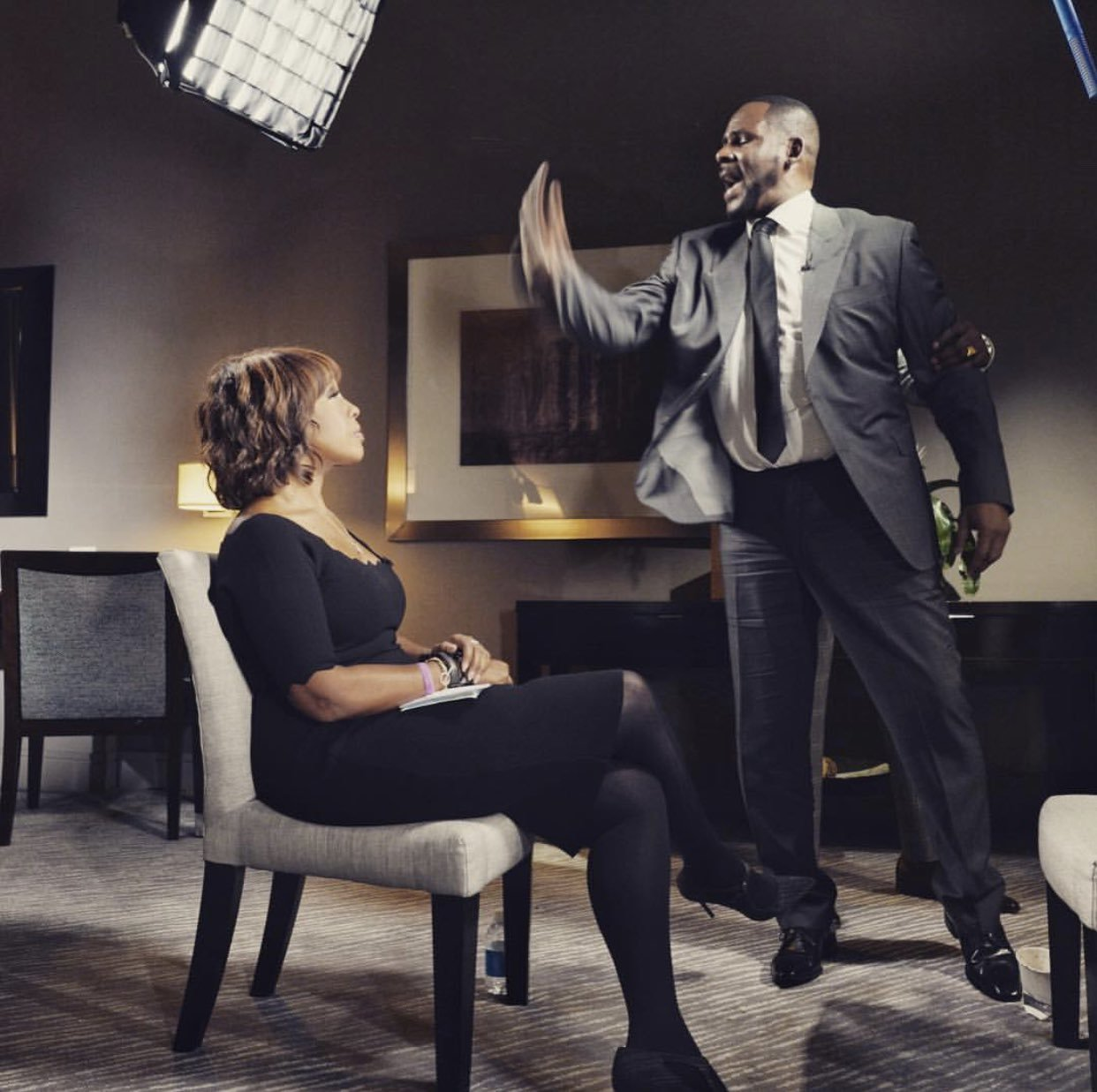 Gayle King worried emotional R Kelly would 'hit her' during shocking CBS interview