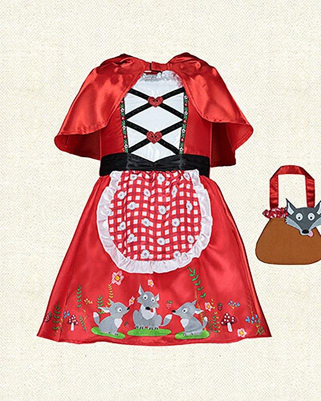 Girlsu0027 Little Red Riding Hood Costume, £10 From Tesco