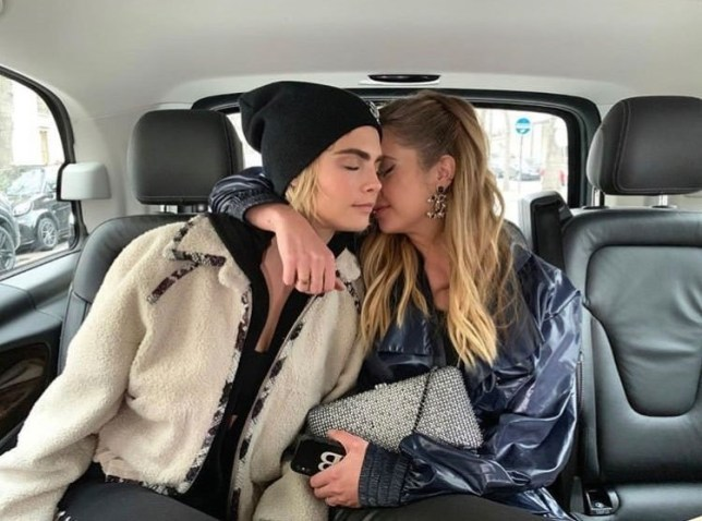 BGUK_1509148 - Various, UNITED KINGDOM - Celebrity social media photos! Pictured: Cara Delevingne, Ashley Benson BACKGRID UK 5 MARCH 2019 *BACKGRID DOES NOT CLAIM ANY COPYRIGHT OR LICENSE IN THE ATTACHED MATERIAL. ANY DOWNLOADING FEES CHARGED BY BACKGRID ARE FOR BACKGRID'S SERVICES ONLY, AND DO NOT, NOR ARE THEY INTENDED TO, CONVEY TO THE USER ANY COPYRIGHT OR LICENSE IN THE MATERIAL. BY PUBLISHING THIS MATERIAL , THE USER EXPRESSLY AGREES TO INDEMNIFY AND TO HOLD BACKGRID HARMLESS FROM ANY CLAIMS, DEMANDS, OR CAUSES OF ACTION ARISING OUT OF OR CONNECTED IN ANY WAY WITH USER'S PUBLICATION OF THE MATERIAL* UK: +44 208 344 2007 / uksales@backgrid.com USA: +1 310 798 9111 / usasales@backgrid.com *UK Clients - Pictures Containing Children Please Pixelate Face Prior To Publication*