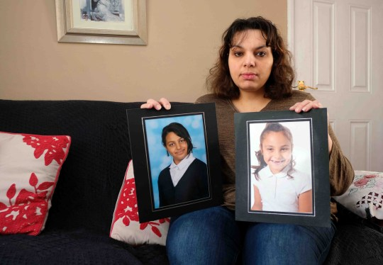 A mum's desperate battle to see her two daughters again has been hit with two devastating setbacks. Jana Khan from Thornaby has not seen her two daughters since December 19. On Christmas Eve their father took Savannah, 10, and eight-year-old Constance to Tobago without her permission. She has not seen them since. Constance, left, and Savannah have not been seen my their mum since Christmas Now she has learned that Tobagonian officials will not back her case. Jana Khan from Thornaby whose children Savannah 10 and Constance 8 have been abducted by their father and taken out of the country.