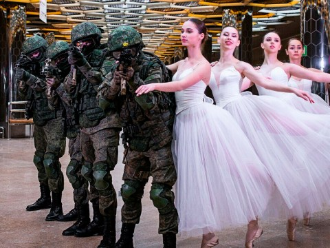 There was one crucial thing missing from a Women's day army photoshoot in Russia