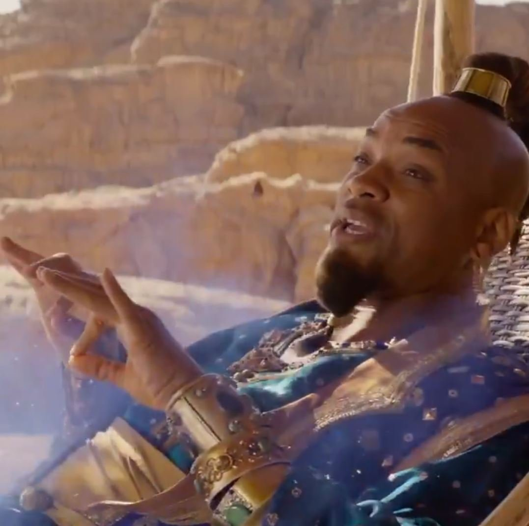 People are starting to come round to Will Smith as Genie in new Aladdin movie, as he says he has 'big shoes to fill'