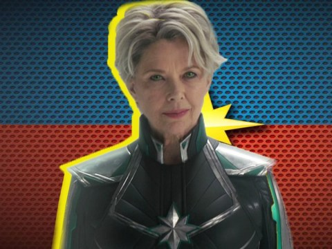 Captain Marvel's Mar-Vell was written as a man before Annette Bening joined cast