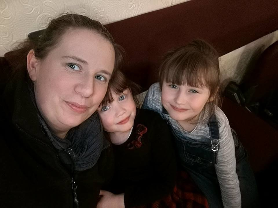 Emma Payne is due to undergo heart surgery but her school is not allowing her daughters Charlotte and Sophie more than two days absence. (Picture: Emma Payne)