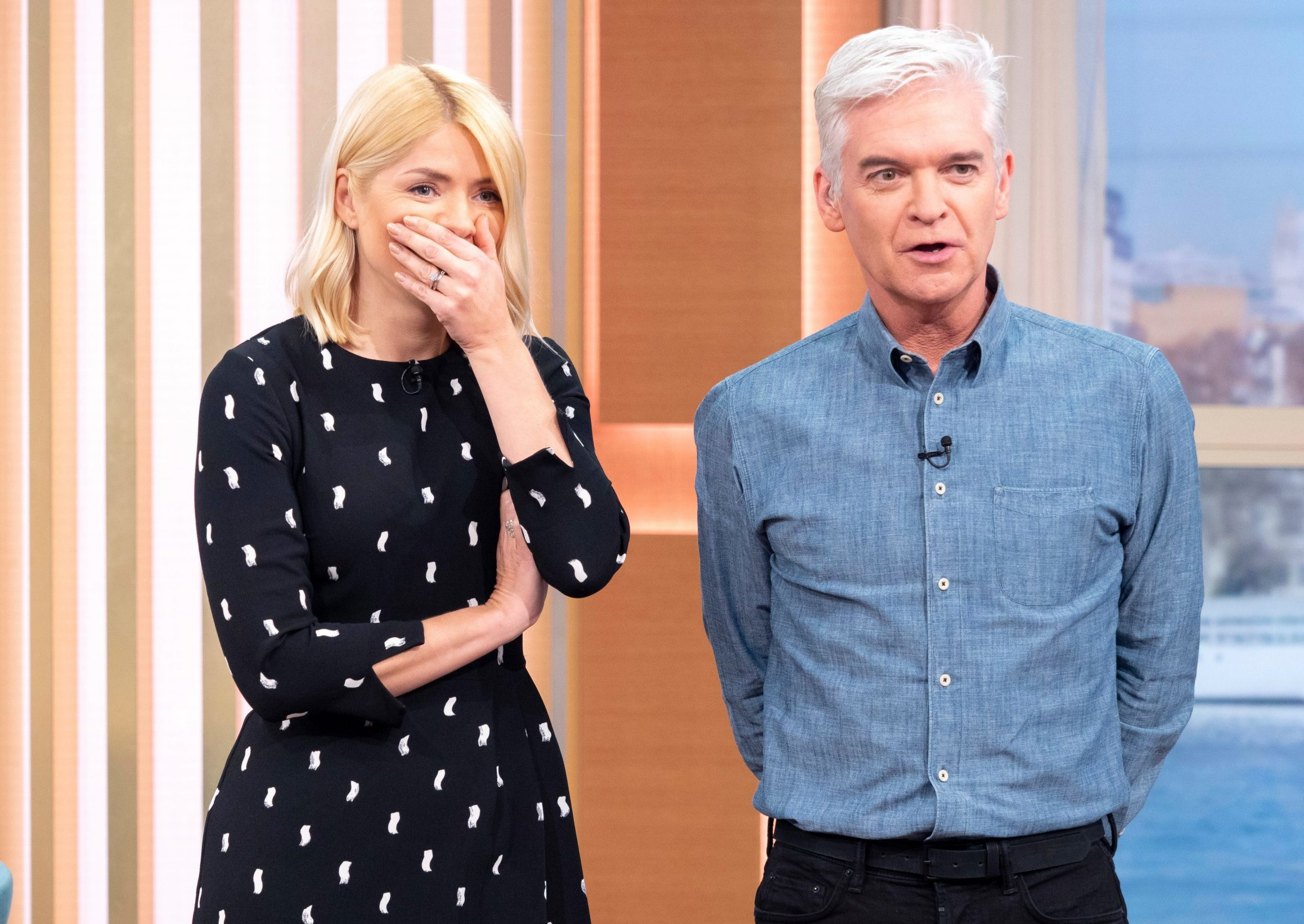 Holly Willoughby begs for missing Tric award as drunk co-stars lose trophy in McDonald's