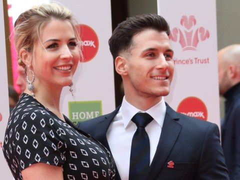 Gemma Atkinson defends C-section as woman jokes she had 'easy option' and 'not proper labour'