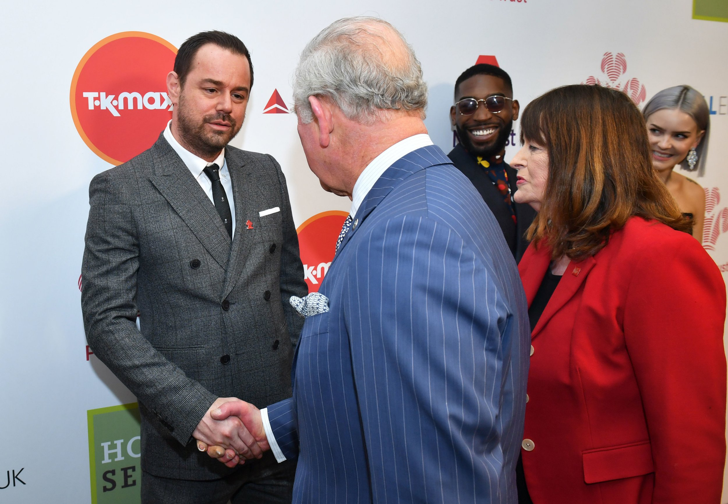 EastEnders star Danny Dyer meets 'cousin' Prince Charles and reveals they're 'related'