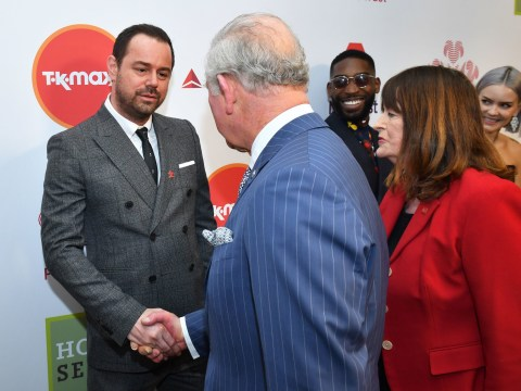 EastEnders star Danny Dyer receives letter from 'cousin' Prince Charles