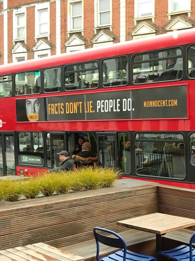 METRO GRAB TWITTER TFL to remove controversial MJ innocent adverts from buses RightwingLefty ??? @Rwinglefty Follow Follow @Rwinglefty More #MJInnocent now trending on London buses strange times. #MichaelJackson https://twitter.com/Rwinglefty/status/1102184650997448704