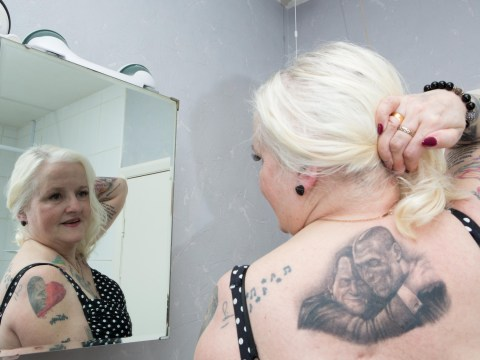 Grandma, 61, with 37 Jose Mourinho tattoos adds a new inking of Jeremy Kyle