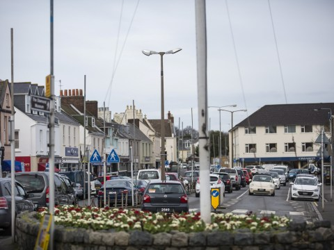 Street with ridiculous number of signs and lampposts is finally getting a clear-out