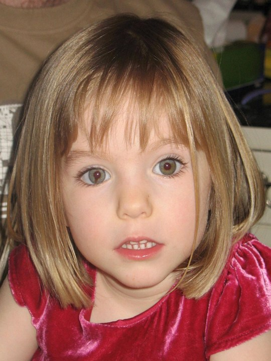 missing child Madeleine mccann