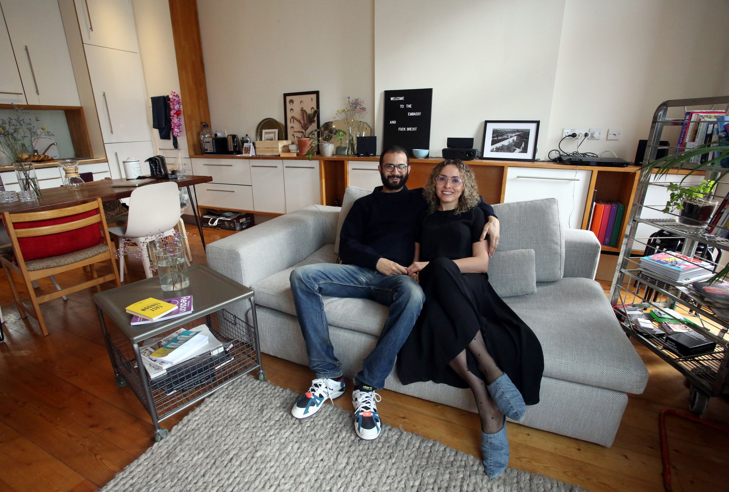 What I Rent: Sophie and Samy, £1,516 a month for a one-bedroom flat in Hackney