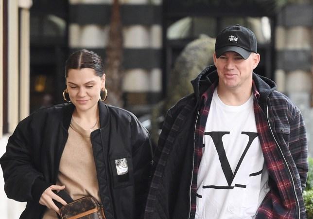 Jessie J walks down London street with Channing Tatum