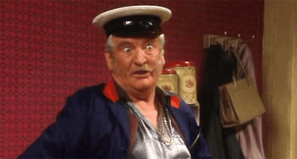 Irish actor Pat Laffan in Father Ted