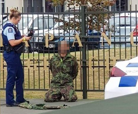 second suspect at Christchurch shooting