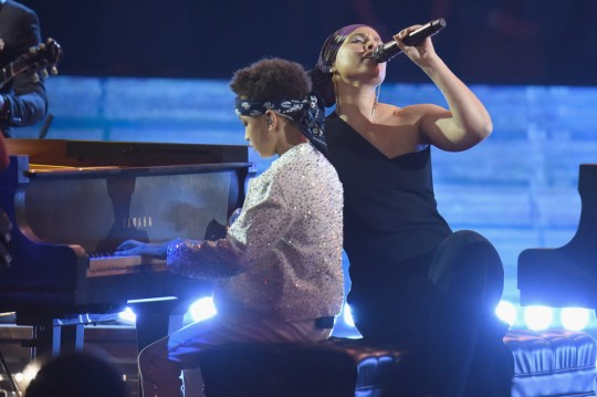 Alicia Keys' adorable son steals show at iHeartRadio Awards