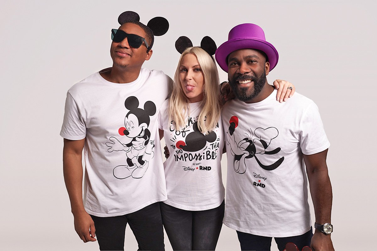 Rickie Haywood-Williams, Charlie Hedges, Melvin Odoom (Picture: Comic Relief)