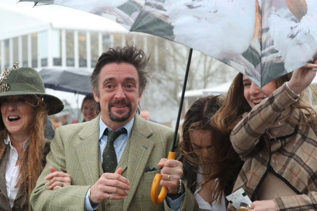 Cheltenham Festival 2019 - Day 4 - Gold Cup Day Featuring: Mindy Hammond, Richard Hammond Where: Cheltenham, United Kingdom When: 15 Mar 2019 Credit: John Rainford/WENN
