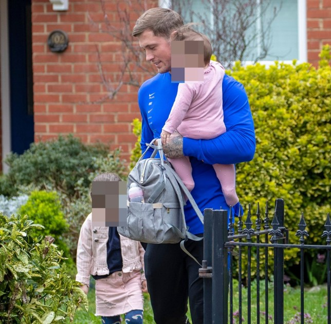 EXCLUSIVE: **USE CHILD PIXELATED IMAGES IF YOUR TERRITORY REQUIRES IT** * Min web / Online Fee 50 GBP PP * * Min Print Fee 200 GBP PP * Double Pg 1 * Dan Osborne collects his children from the family home in Kent Pictured: Dan Osborne Ref: SPL5072661 150319 EXCLUSIVE Picture by: SplashNews.com * Min web / Online Fee 50 GBP PP * * Min Print Fee 200 GBP PP * Double Pg 1 * Splash News and Pictures Los Angeles: 310-821-2666 New York: 212-619-2666 London: 0207 644 7656 Milan: 02 4399 8577 photodesk@splashnews.com World Rights