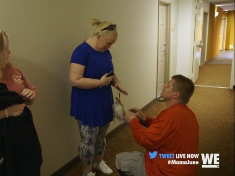Mama June reveals on TV she may be pregnant, hours after arrest