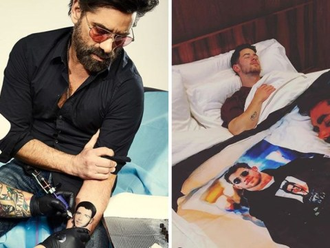John Stamos ups stakes in Nick Jonas prank war with tattoo of singer's face