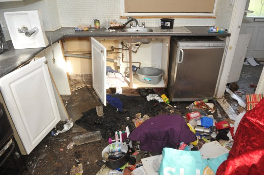 Tenant from hell' evicted after causing £25,000 in damage