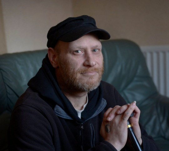 A disabled former warehouse worker has revealed how he does not have enough money to buy food and electric and fears losing his home - after being stripped of his ?700-a-month benefits. Jamie Jones, 46, has had his 'lifeline' Personal Independence Payments (PIP) and Employment and Support Allowance (ESA) payments stopped. Caption: Jamie Jones, 46, from Stoke-on-Trent, Staffordshire, who claims the DWP have stopped his benefit payments