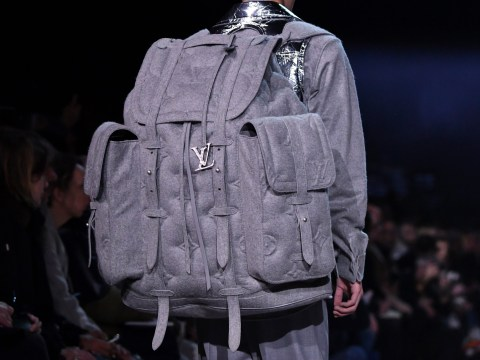 The Louis Vuitton oversized £7k backpack might weigh you down but at least you'll look good