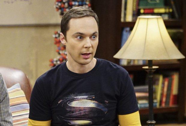 Jim Parsons as Sheldon Cooper in The Big bang Theory