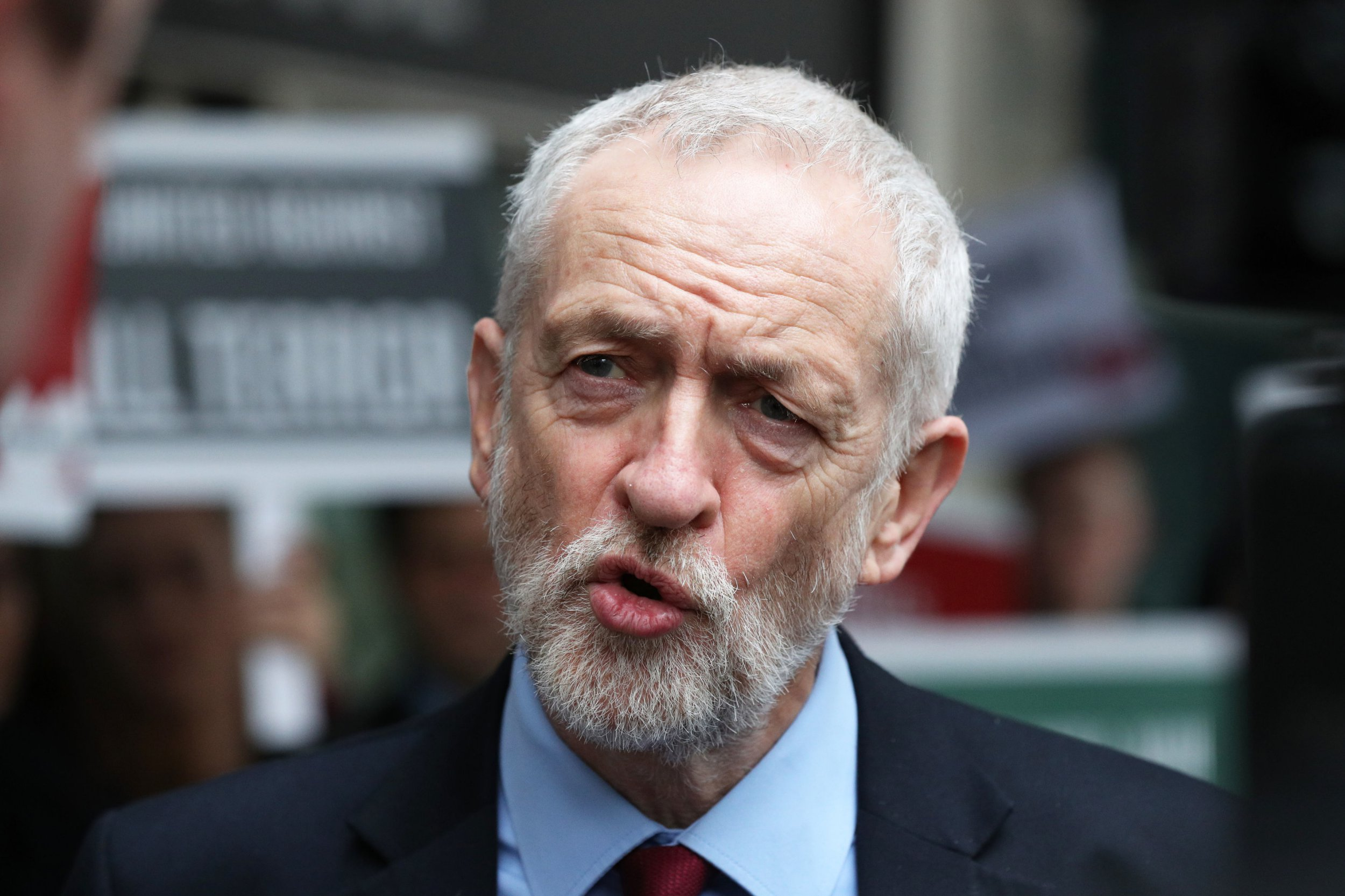 "File photo dated 15/3/2019 of Jeremy Corbyn, who has said it is right that members of the Armed Forces are held to account for incidents during the Troubles after a British soldier was charged with murder over Bloody Sunday. PRESS ASSOCIATION Photo. Issue date: Sunday March 17, 2019. The Labour leader said the ""law must apply to everyone"", and denied that there was a discrepancy between the investigations into soldiers after Republican suspects were sent ""comfort letters"" offering effective immunity from prosecution. See PA story ULSTER Corbyn. Photo credit should read: Jonathan Brady/PA Wire"