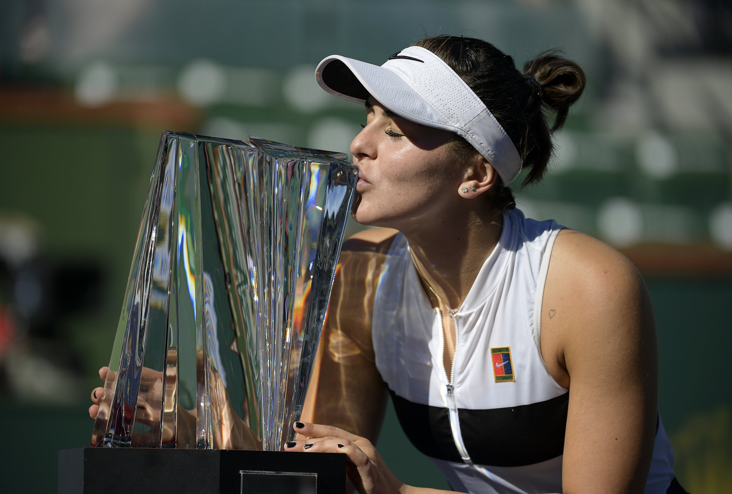 Canadian sensation Bianca Andreescu stuns Angelique Kerber to make history at Indian Wells