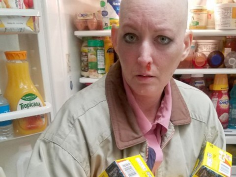 Woman with cancer stays positive by cosplaying as pop culture icons