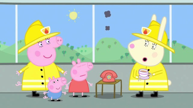 Peppa Pig accused of 'sexism' over the use of 'fireman' Peppa Pig Fireman Episode
