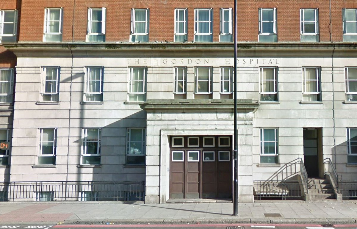 The Gordon Hospital, Westminster, London. Dr seriously stabbed in London mental health ward.
